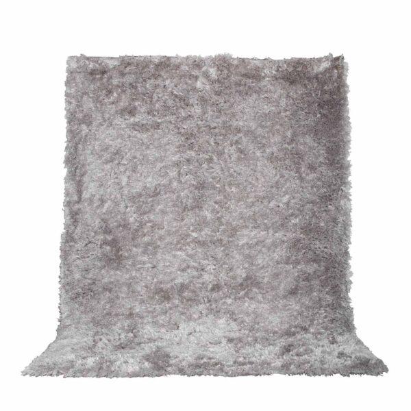 VENTURE DESIGN Natta gulvtæppe - sølv polyester (290x200)