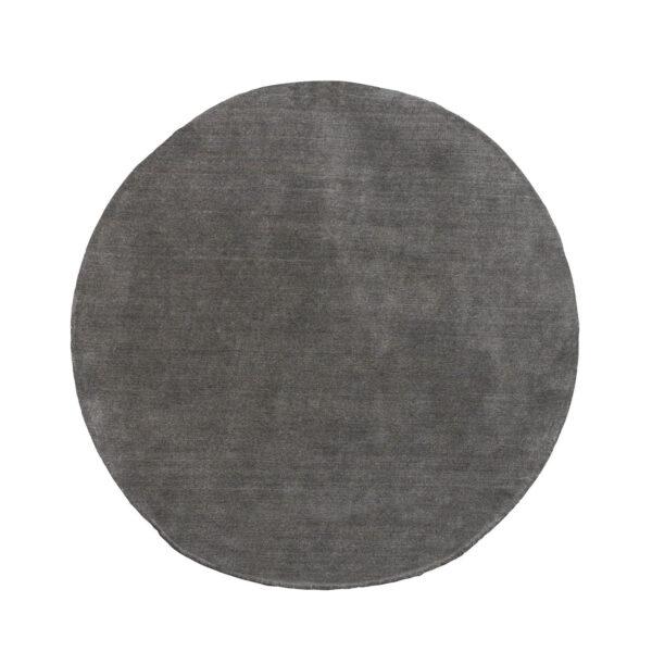 VENTURE DESIGN Ulla gulvtæppe - grå uld og polyester (Ø200)