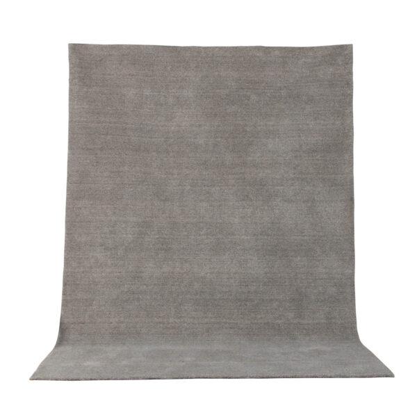 VENTURE DESIGN Ulla gulvtæppe - lysegrå uld og polyester (160x230)