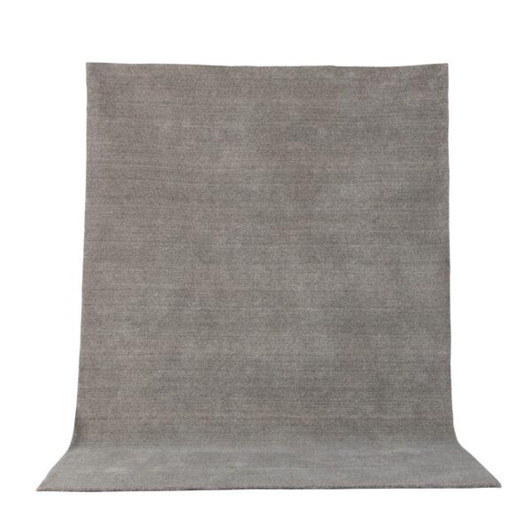 VENTURE DESIGN Ulla gulvtæppe - lysegrå uld og polyester (250x350)