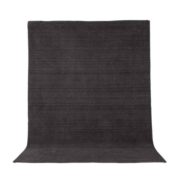 VENTURE DESIGN Ulla gulvtæppe - mørkegrå uld og polyester (200x300)
