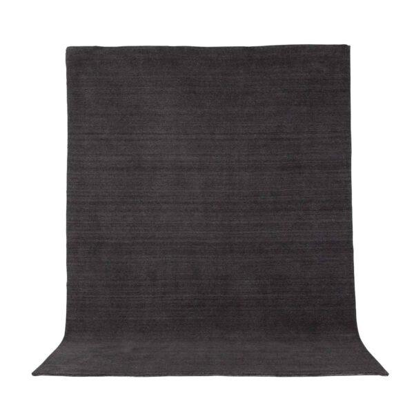 VENTURE DESIGN Ulla gulvtæppe - mørkegrå uld og polyester (250x350)