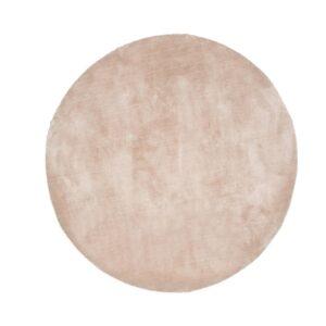 VENTURE DESIGN Undra gulvtæppe - beige viskose (Ø200)
