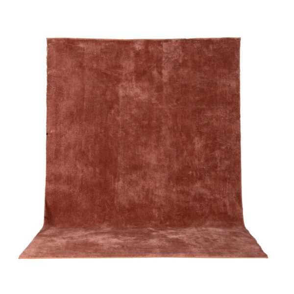 VENTURE DESIGN Undra gulvtæppe - dusty pink viskose (200x300)