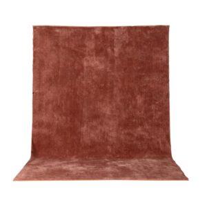 VENTURE DESIGN Undra gulvtæppe - dusty pink viskose (250x350)
