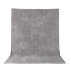 VENTURE DESIGN Undra gulvtæppe - sølv viskose (170x240)