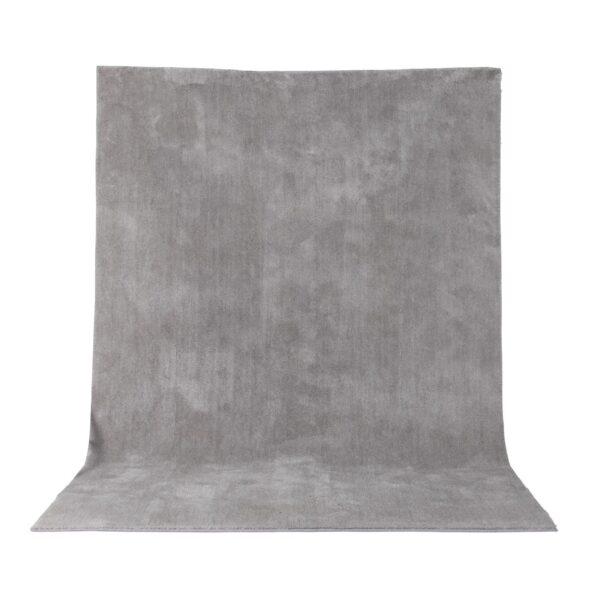 VENTURE DESIGN Undra gulvtæppe - sølv viskose (200x300)