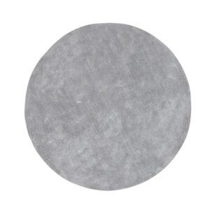 VENTURE DESIGN Undra gulvtæppe - sølv viskose (Ø200)