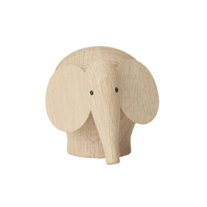 WOUD Nunu elefant lille - natur egetræ