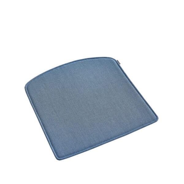 WOUD Pause hynde til barstol - blå stof, m. antislip