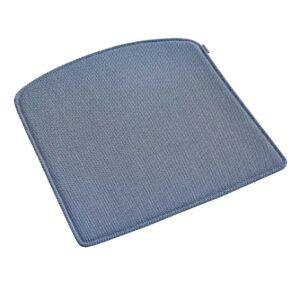 WOUD Pause hynde til spisestol - blå stof, m. antislip