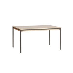 WOUD Piezas spisebord - hvidpigmenteret egetræ (140x85)
