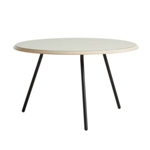WOUD rund Soround sofabord - grå laminat og metal